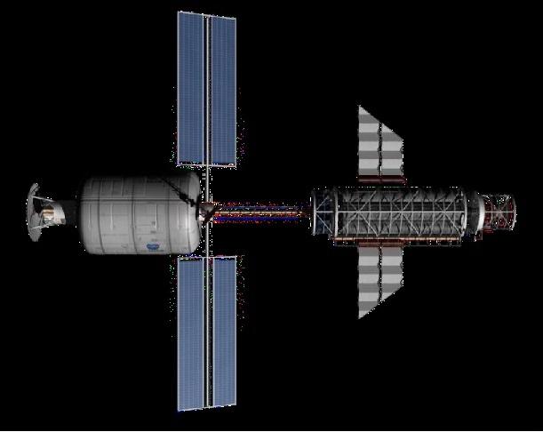 Fusion Driven Rocket