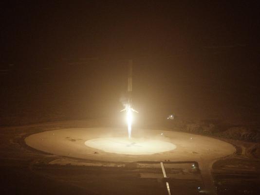 Falcon 9 Touchdown